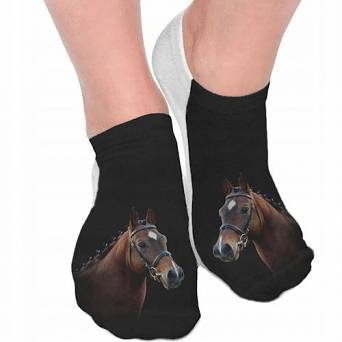 Horse socks 3D FULL PRINT