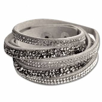 WALDHAUSEN  WRISTBAND SET WITH RHINESTONES