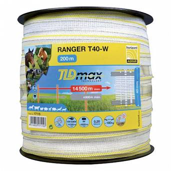 Electric fence RANGER T40-W TLD 200m (20mm)