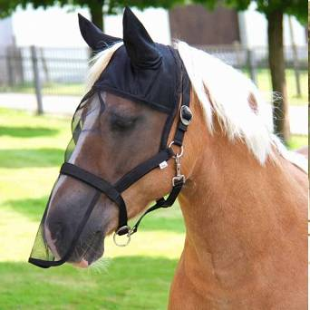 KERBL Halter with integrated fly mask  / 3261
