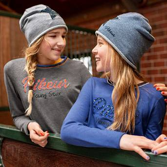PIKEUR Children Sweat-/Lurex-Hat, collection Winter 2019/20 / 4883