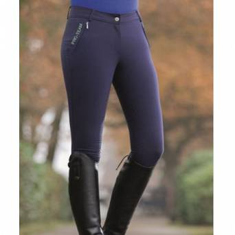 Riding breeches HKM PRO TEAM FLO silicone full seat / 12217