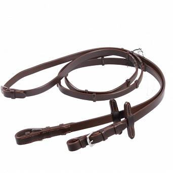 48 DAW-MAG Leather reins with stoppers