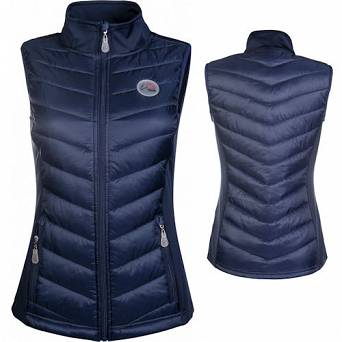 Quilted waistcoat HKM JERSEY youth / 113696