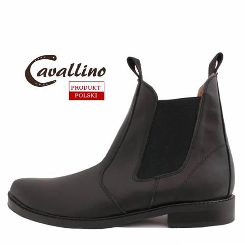 e8c15b7286b8e 0415702 CAVALLINO sztyblety męskie - krótkie wsuwane buty do jazdy ...