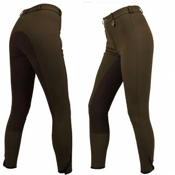 PIKEUR Children's full seat breeches LUGANA Contrast / 24MLC