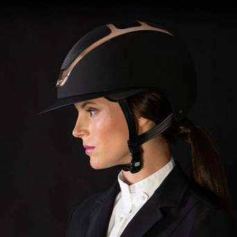 Riding helemt KASK STAR LADY back with everyrose shining frame / HHE00013.324