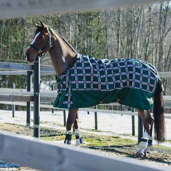 HORZE  NEVADA Medium weight turnout rug 1200D, 200g / 24574