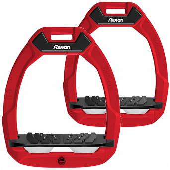 FLEX-ON Strzemiona SAFE-ON - inclined ULTRA grip - red