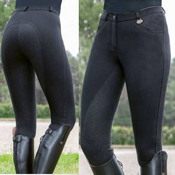Ladies' riding breeches HKM KATE silicone full seat/ 10540