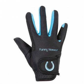 Riding gloves HKM FUNNY HORSES young / 11798