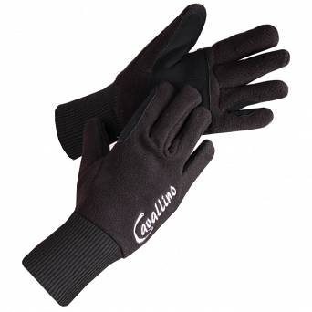 0818 CAVALLINO Fleece gloves with flexible wrist
