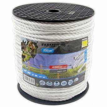 E08H 6-wire electric fence rope Horizont Ø6mm 220m