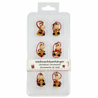"HAPPY ROSS Christmas Ornaments ""Horses"" 40593"