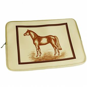 "HAPPY ROSS Neoprene Laptop Bag ""Horse"" / 40573"