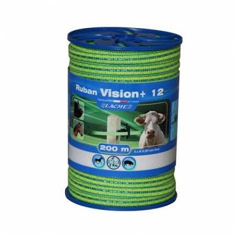 Electric fence tape POMELAC VISION - 200m / 205-020-014