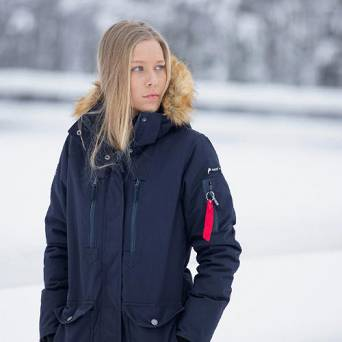 Long Parka Jacket HORZE BROOKE ladies, WINTER 2020 / 33353