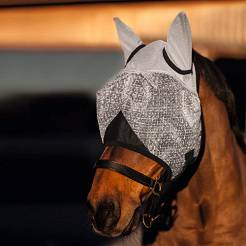 Fly Mask KERBL FLY MASK UV with ear protection / 32451