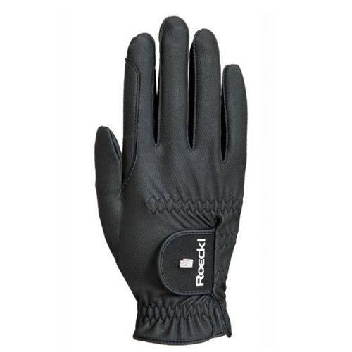 03b8c560024192 ROECKL 3301-108 Rękawiczki jeździeckie Grip Pro - czarne