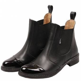 CAVALLINO Leather jodhpur boots / 0415701