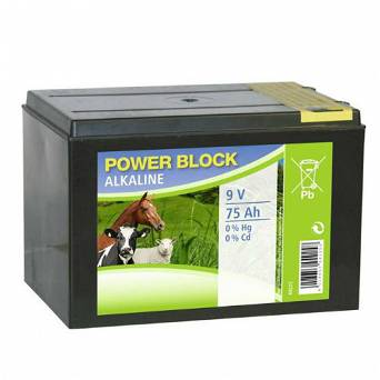 Alcalic battery CanAgri 9v 75Ah or electric fencing / 11-0071