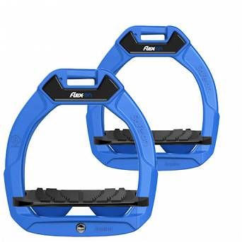 FLEX-ON Strzemiona SAFE-ON JUNIOR - inclined GRIP - blue