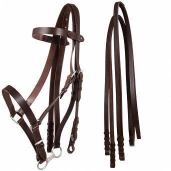 39C DAW-MAG Military bridle/headcollar