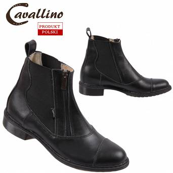 0455701 CAVALLINO Riding boots with zipper  (35-41)