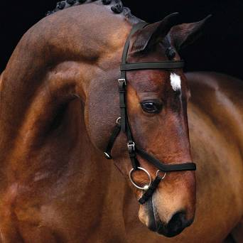"4701 HORSEWARE Ogłowie  ""RAMBO MICKLEM Original Competition"""