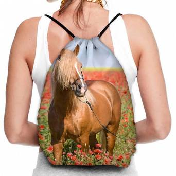 Backpack with  horses FULL PRINT