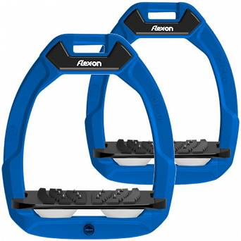 FLEX-ON Strzemiona SAFE-ON - inclined ULTRA grip - blue