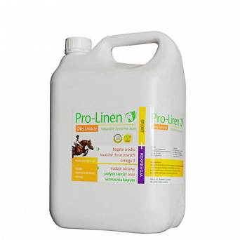PRO-LINEN Linseed oil for horses ™ 5 L