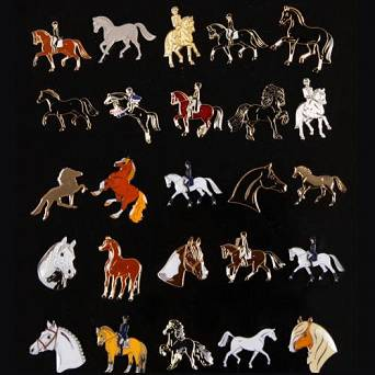 EQUI-THEME Lapel pin / 90103