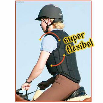 41D USG Children's body protector FLEXI BLACK
